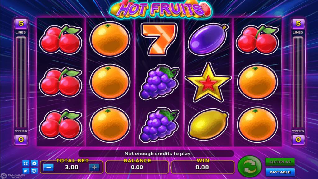How do I play slots
